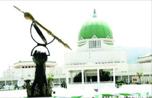 Nigeria's National house of Assembly's roof is leaking