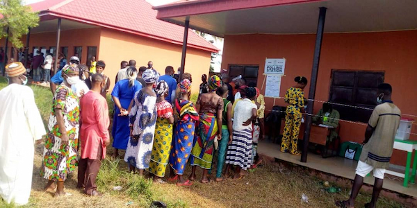Opposition parties in Ogun reject the results of the election