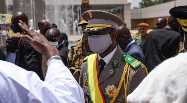 The temporary president of Mali is the target of a stabbing assault