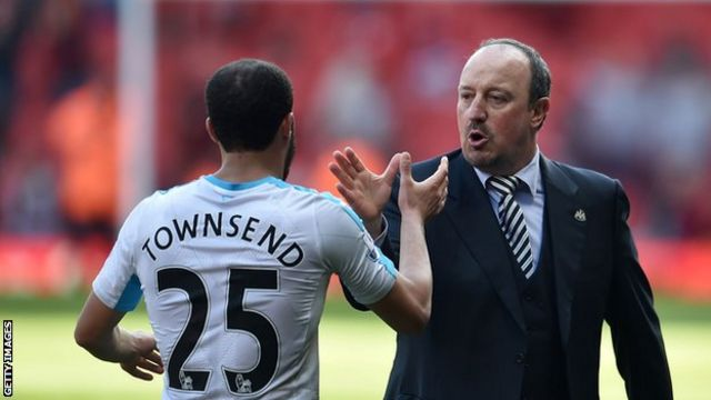 Townsend joins Everton on a two-year agreement