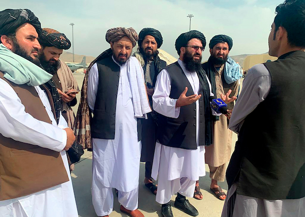 Group wants to have a working relationship with U.S - Taliban Spokesman