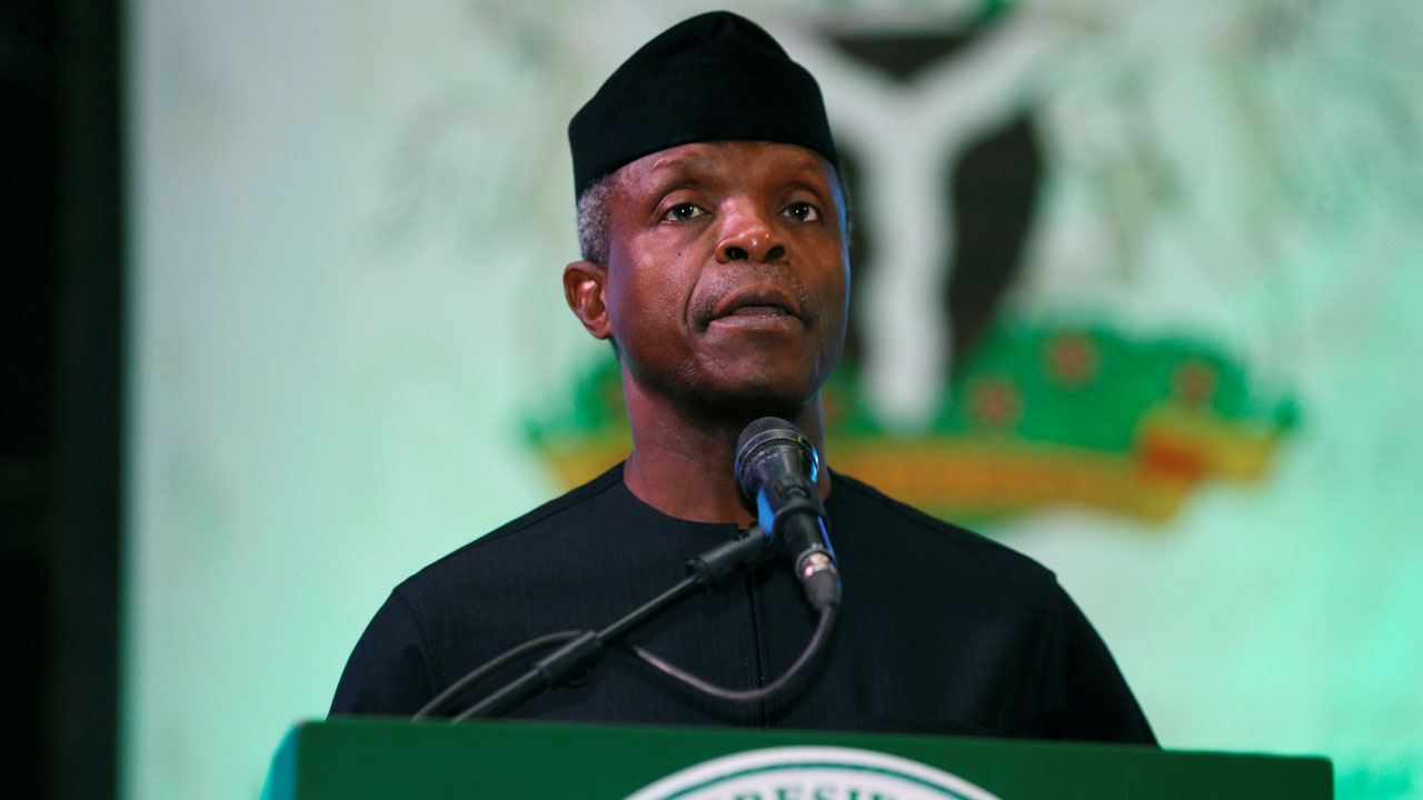 """""""I have not declared any interest whatsoever in the 2023 presidential election"""" - Osinbajo"""