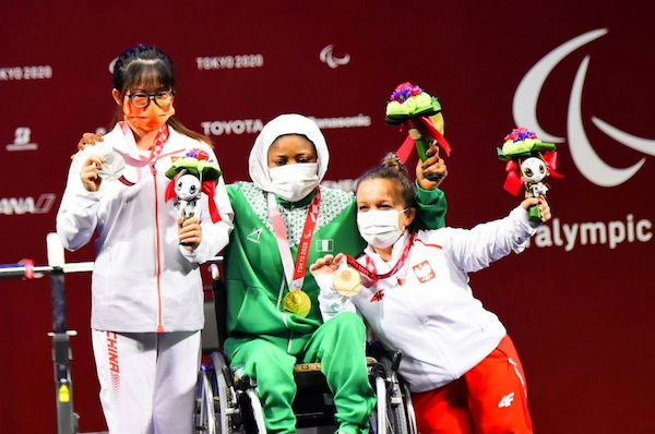 Nigeria wins first Paralympic gold medal in Tokyo