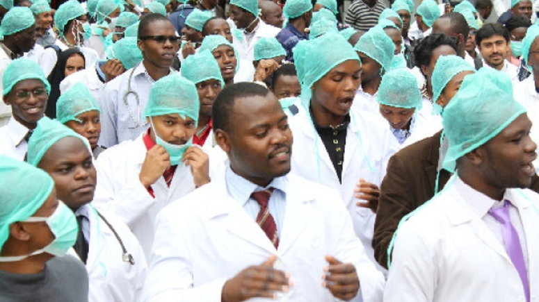Nigerian government orders stoppage of striking doctors' salaries