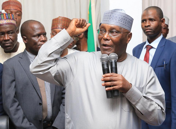 PDP group asks Atiku not to contest in 2023
