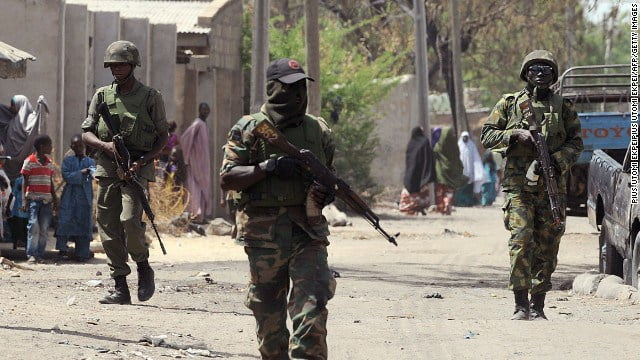 Soldier injured as troops repel a Boko Haram attack on a Yobe community