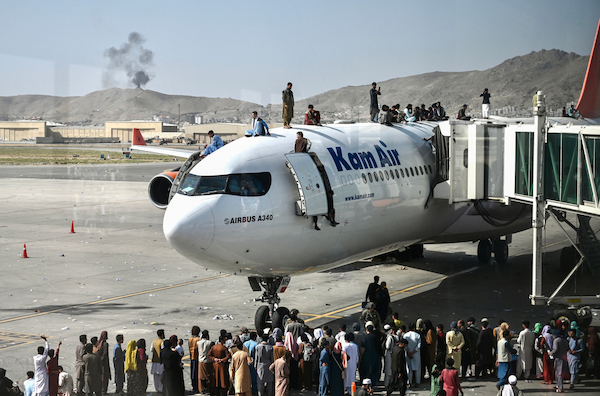 US asks American airlines to assist in the evacuation of Afghans