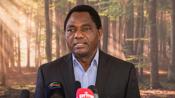 Zambia's president-elect takes office, boosting democracy in the country