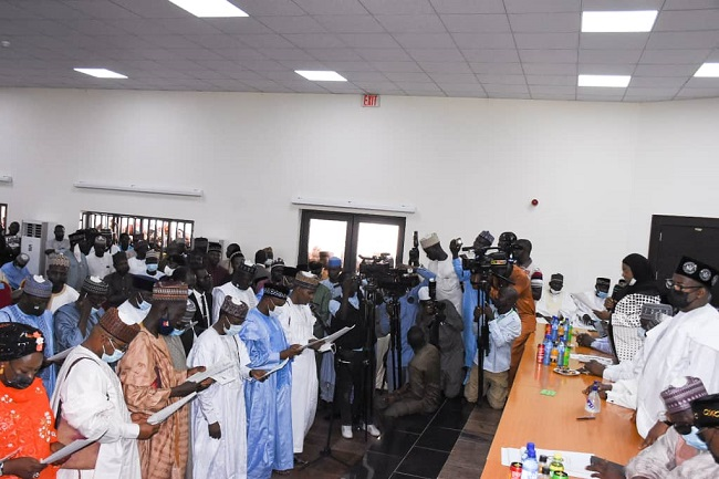 Bauchi governor swears in SSG, commissioners and others