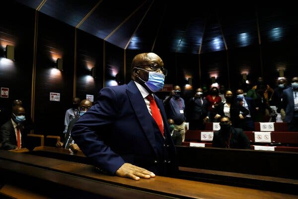 Court rejects Jacob Zuma's request to overturn sentence