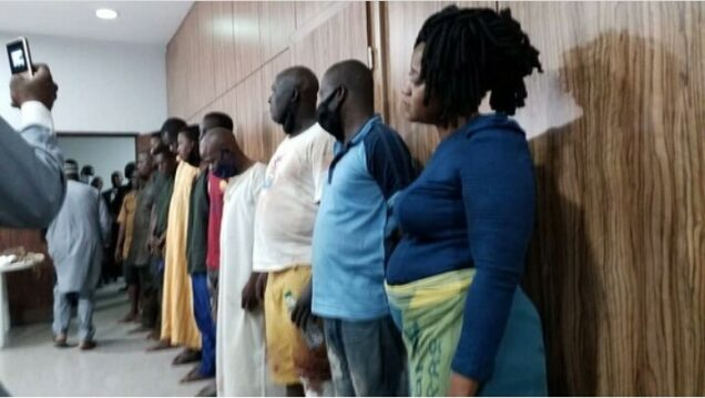 DSS charges Igboho aides with terrorism