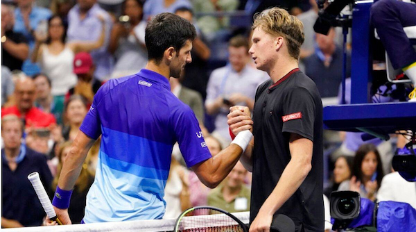 US Open: Djokovic beats Brooksby to advance to quarter finals
