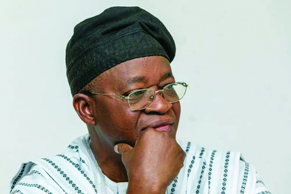 Gov. Oyetola meets with PDP defectors in Osun
