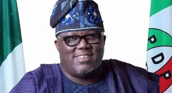 Lagos state PDP Chairman rejects second term of office
