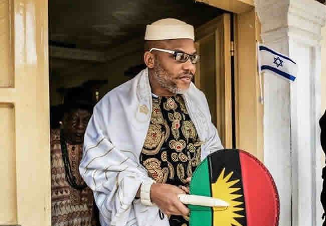 Nnamdi Kanu's lawyer sues DSS for alleged violations of human rights