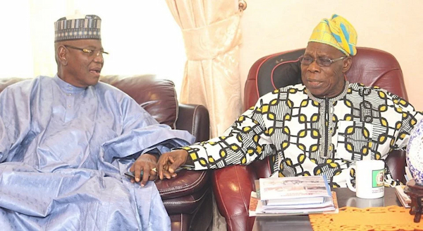 """""""Nobody is safe"""" - Lamido says after meeting with Obasanjo"""