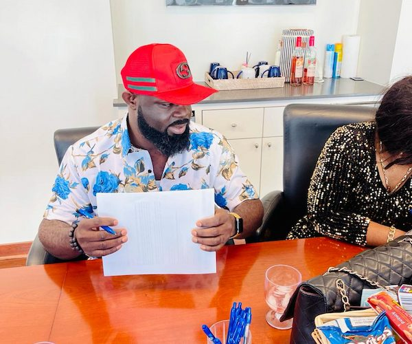 Nigerian US-based Juju singer, Alaba Ultimate and Wife, acquire new mansion