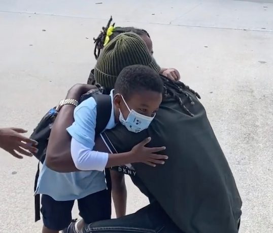 Paul Okoye reunites with his kids in US amid divorce with wife