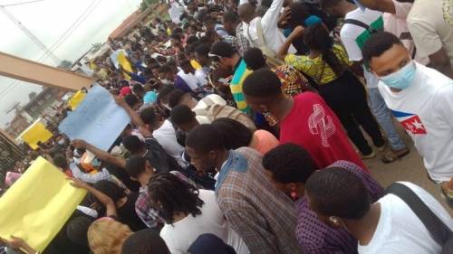 UNIBEN shut down due to students' protest over new N20,000 charge