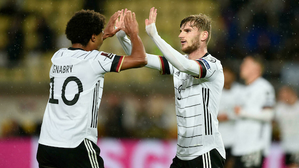 Germany qualifies for Qatar World Cupcourtesy of Werner's double