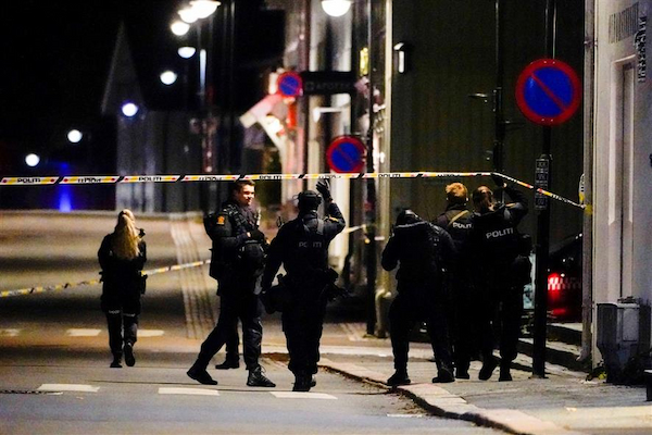 Man kills 5 people with bow and arrow in Norway